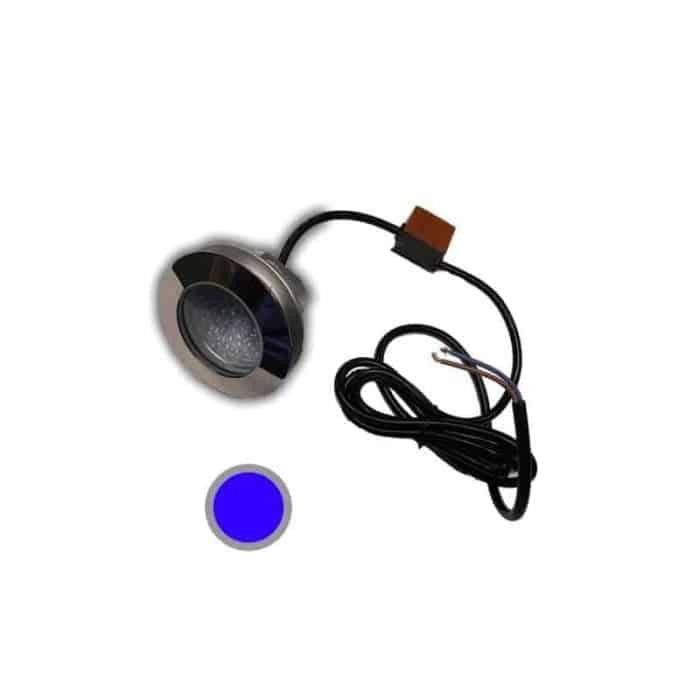 Led-lampa 52 pool blått ljus
