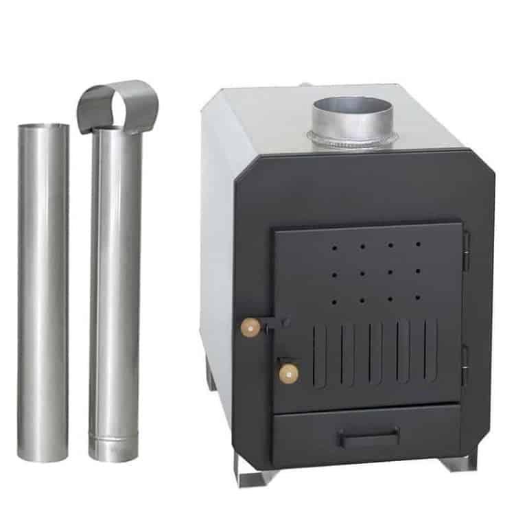 Kamin extern 40 kW