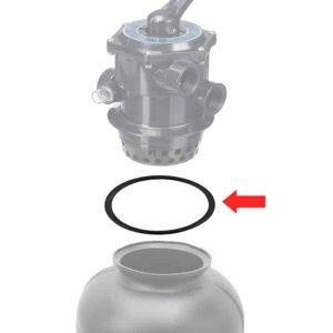 o-ring filterhuvud