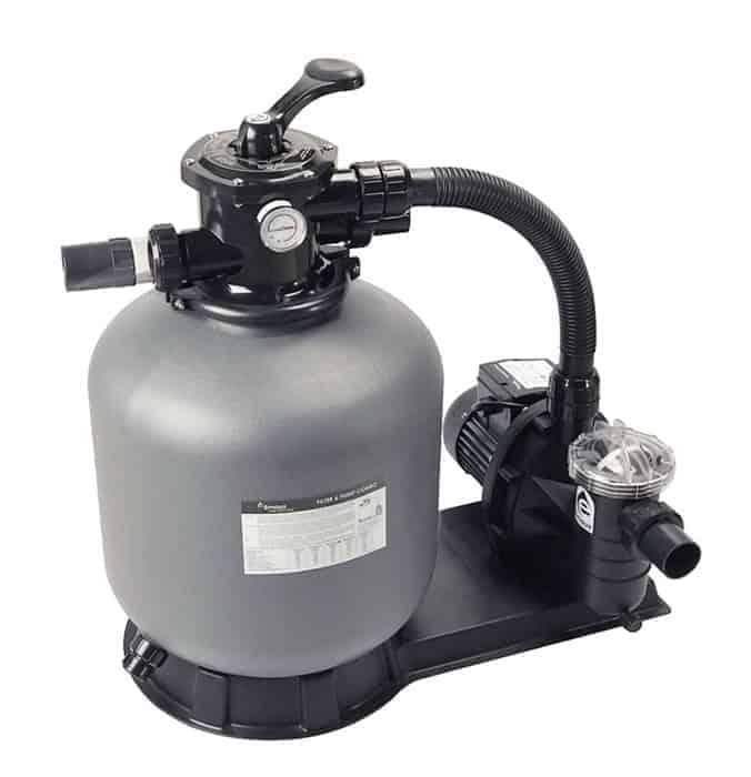 Hur ansluter jag min Intex pool pump